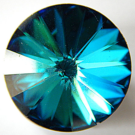 Crystal Bermuda Blue F 12 mm